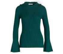 Pullover mit Kapuze - dunkelgrün