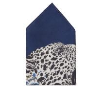 Einstecktuch - blau