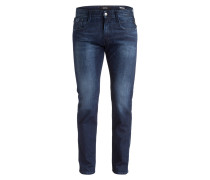 Jeans ANBASS Slim-Fit - 007 dark blue