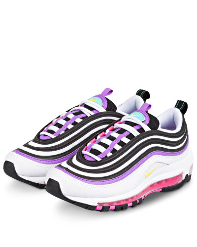 Sneaker AIR MAX 97 - WEISS/ LILA/ SCHWARZ