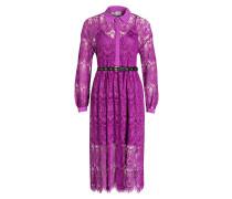 Spitzenkleid - violett