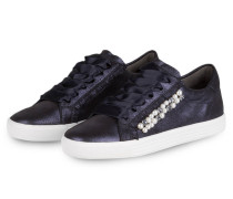 Sneaker TOWN mit Perlenbesatz - dunkelblau