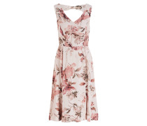 Kleid VIVIEN - sand/ rosé/ ivory