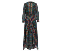 Kleid ROEME - rot/ blau/ schwarz