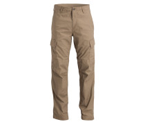 Cargohose Regular Straight-Fit - beige