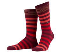 3er-Pack Socken - rot/ bordeaux