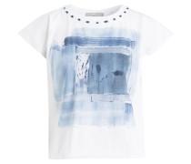 T-Shirt DREAMER - weiss/ blau