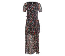 Kleid RANCHO - schwarz/ grün/ orange