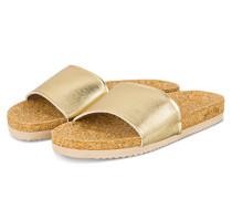Pantoletten POOL CORGI - GOLD