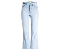 Flared-Jeans PRUDY - hellblau
