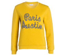 Sweatshirt TRAVEL - gelb