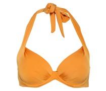Neckholder-Bikini-Top SHINY BRONZE