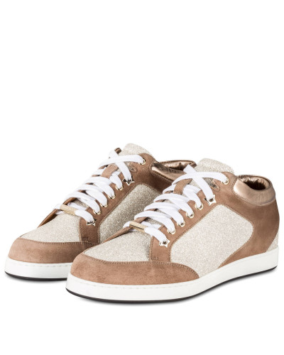 Sneaker MIAMI - BRAUN/ GOLD