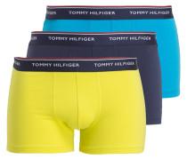 3er-Pack Boxershorts - gelb