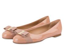 Lack-Ballerinas VARINA - rosé