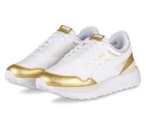 Plateau-Sneaker CRUISE RIDER - ECRU/ GOLD
