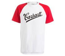 T-Shirt - weiss/ rot