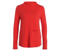 Pullover - orangerot