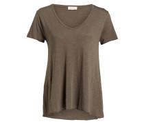 T-Shirt JACKSONVILLE - khaki meliert
