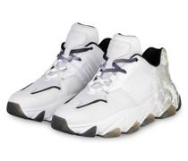 Plateau-Sneaker ESTASY BIS - WEISS/ GRÜN