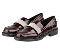 Lack-Loafer 5 FASHION STREET mit Schmuckband
