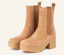 Chelsea-Boots KRUST - CAMEL