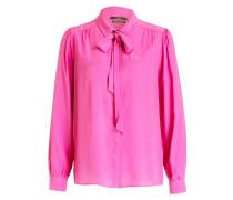 Schluppenbluse - pink