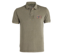 Piqué-Poloshirt EROL - khaki