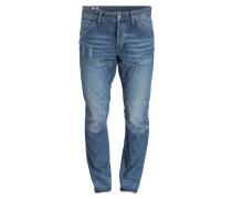 Jeans ELWOOD Tapered-Fit - blau
