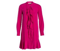 Seidenkleid JANE - pink