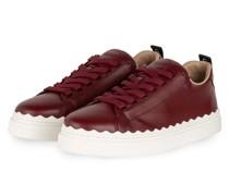Sneaker LAUREN - DUNKELROT