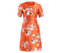 Kleid KORILEY - orange/ rosa/ weiss