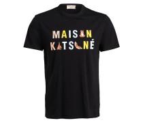 T-Shirt RAINBOW YOGA FOXES