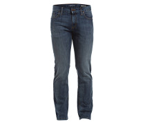 Jeans PIPE Regular Slim-Fit - blau