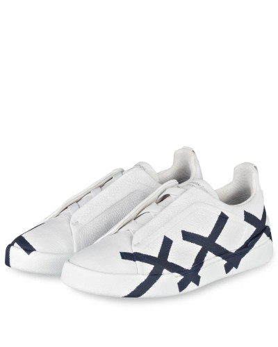 Ermenegildo Zegna Herren Sneaker TRIPLE X - WEISS