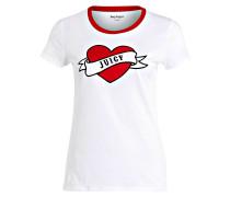 T-Shirt VALENTINE - weiss