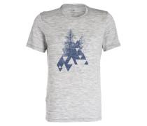 T-Shirt TECH LITE CREWE EVERGREEN mit Merinowolle-Anteil