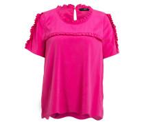 Seidenshirt - pink