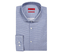 Hemd ERONDO Extra Slim-Fit - blau/ weiss