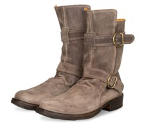 Biker Boots PATERNITY - TAUPE