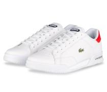 Sneaker TWIN SERVE - WEISS/ ROT
