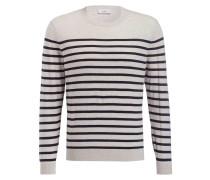 Pullover - schwarz/ hellgrau meliert