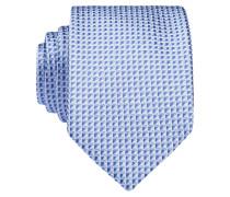 Krawatte - hellblau/ blau/ weiss