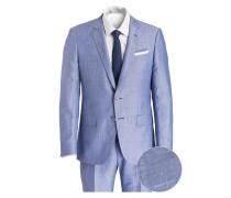 Anzug HUTSON4/GANDER1 Slim-Fit mit Leinenanteil