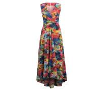 Kleid in Wickeloptik mit Glitzergarn