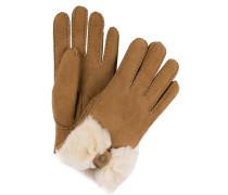Lederhandschuhe BOW - chestnut