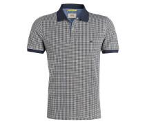 Piqué-Poloshirt - oliv/ navy/ weiss