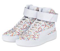 Hightop-Sneaker KIKU - weiss/ rot