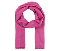 Schal FRIDA mit Seidenanteil - pink