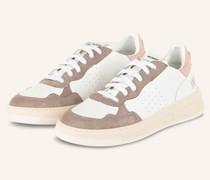 Sneaker HYPER - WEISS/ BEIGE/ ROSÉGOLD